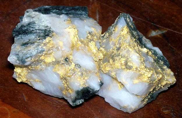 Gold Ore Quartz Disseminated Gold Ore
